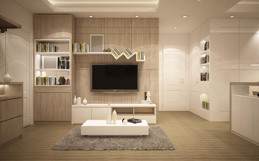 Spacious and warm flat